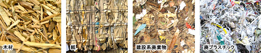 Wood,Paper,Construction Waste,Waste Plastic